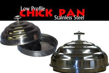 Chick Pan, Stainless Steel - Low Profile