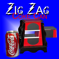 Zig Zag Coke Can - Europe