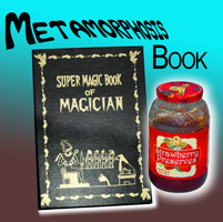 Metamorphosis Magic Book
