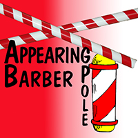 Appearing Barber Pole - 8 Feet