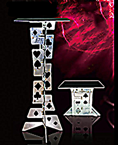 Folding Table - Harbin Style - Metal