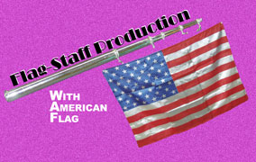 Flag Staff Production - USA Flag