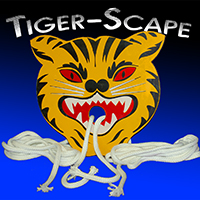 Tiger-Scape w/ Rope