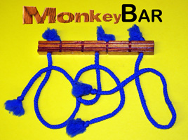 Monkey Bar - Wood