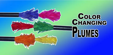 Color Changing Plumes - Visual #3