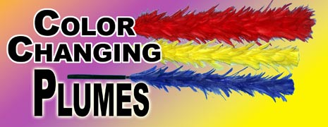 Color Changing Plumes 3 in 1 - Flower Magic Trick