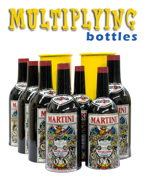 Multiplying Bottles - 8 Bottle Set