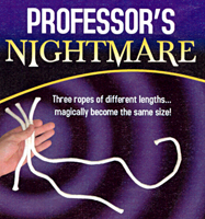 Professors Nightmare -(HNG)- Beginner Rope Magic Trick