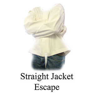 Straight Jacket Escape - Canvas