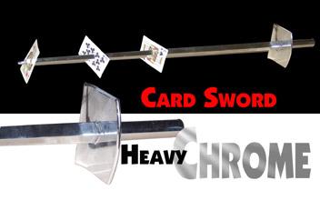 Card Sword - Chrome Boxed