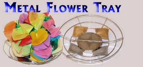 Flower Basket - Metal - Parlor / Stage / Magic trick