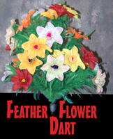 Feather Flower Bouquet Master Dart #24 - Magic Trick