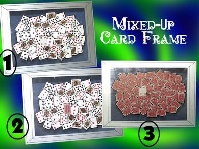 Mixed Up Card Frame