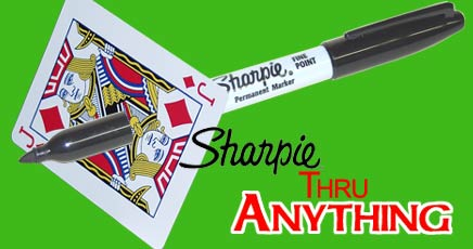 Sharpie thru Anything - England