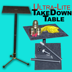 TakeDown Table - UltraLite Aluminum