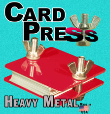 Card Press - Aluminum
