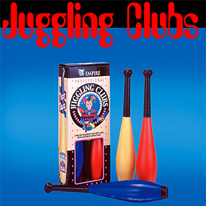 Juggling Club Set, Deluxe