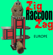 Zig Zag Raccoon - Europe