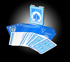 Bicycle Reverse Deck - Blue