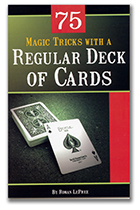 Regular Card Deck Book