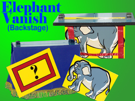 Backstage Elephant Vanish - USED